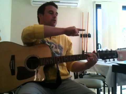 Alpha And Omega Guitar Tutorial Youtube
