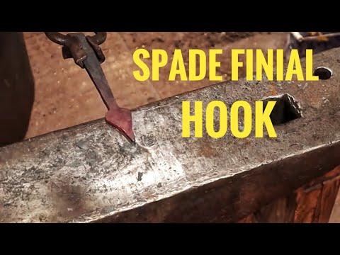 Spade finial hook - Hook of the week 14