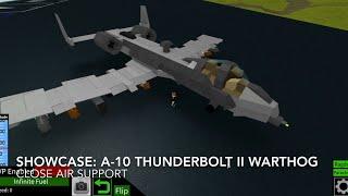 Roblox showcase: The A-10 Thunderbolt II Warthog