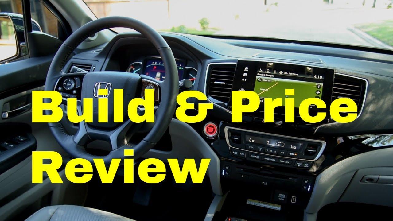 Honda Build And Price >> 2019 Honda Pilot Ex L 8 Passenger Awd Suv Build Price Review