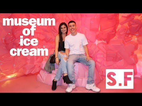 MUSEUM OF ICE CREAM!!! ( WALK-THROUGH )