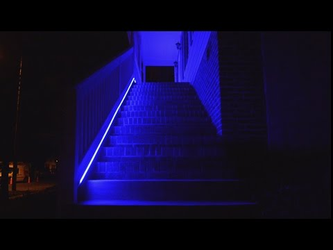 Demo - RGB Digital LED Strip controlled using ESP, MQTT, and Home Assistant