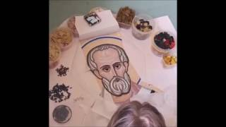 Иконы из мозаики процесс изготовления