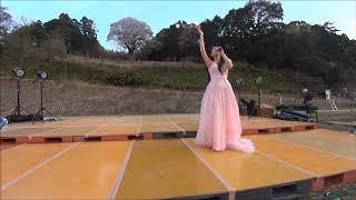 2018年4/1 故郷高知県幡多郡大月町の「夜桜音楽会」月光桜の下で♪ 作...