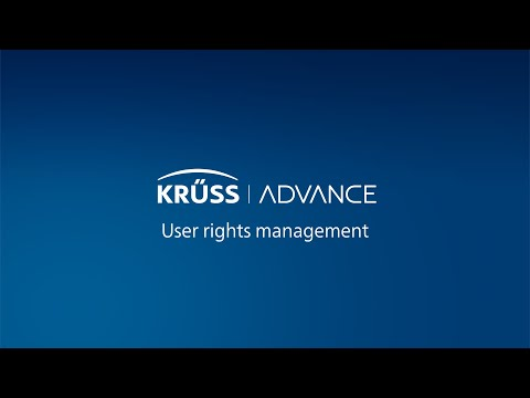 ADVANCE | User Rights Management