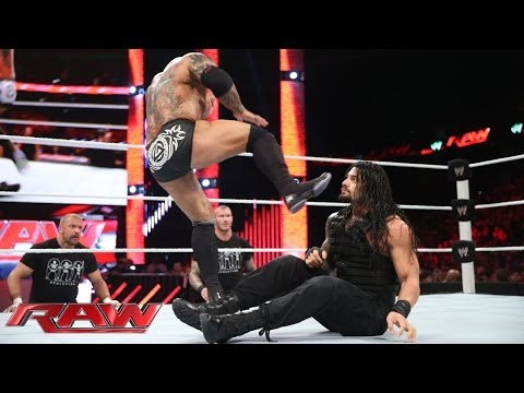 Thumbnail: Roman Reigns vs. Batista: Raw, May 12, 2014
