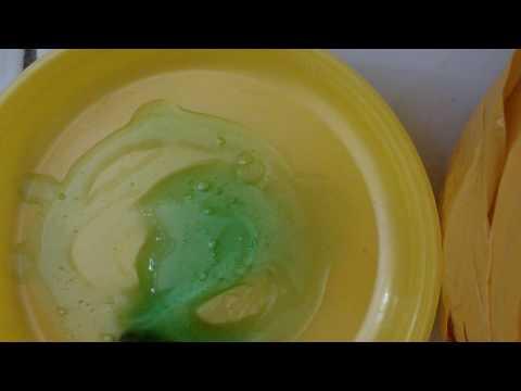 Cara membuat slime hanya 1 bahan