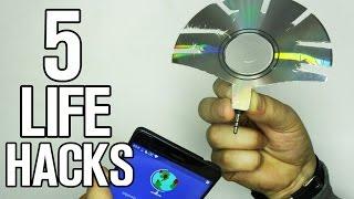 Repeat youtube video 5 Incredible Simple Life Hacks