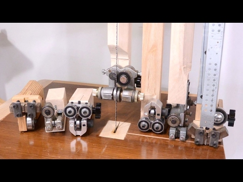 1 Bandsaw 4 Blade Guides Comparison Youtube