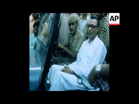 SYND 26 8 77 INDIAN DEFENCE MINISTER BANSI LAL AT COURT