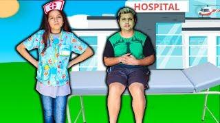 CRIANÇA finge ser médica e salva wiizinho ♥ KIDS Pretend Play With Doctor