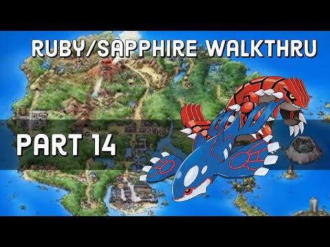 Pokemon Ruby/Sapphire Walkthrough - Part 14 - Lavaridge Town Gym Battle