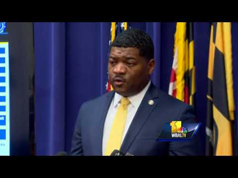 Video: Locust Point homicide police press conference