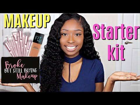 beginner-makeup-tips-&-starter-makeup-kit-|-drugstore-products-for-women-of-color