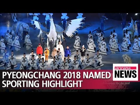 'Peace at Pyeongchang' named in top 10 international sporting highlights of 2018