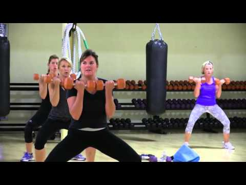 Cathe Friedrich's Total Body Cardio & Weights Live Workout