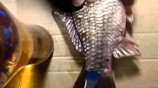 Как быстро и легко почистить рыбу от чешуи - вы будете в шоке