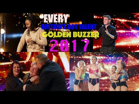 Britain's Got Talent 2017 All Golden Buzzers Acts