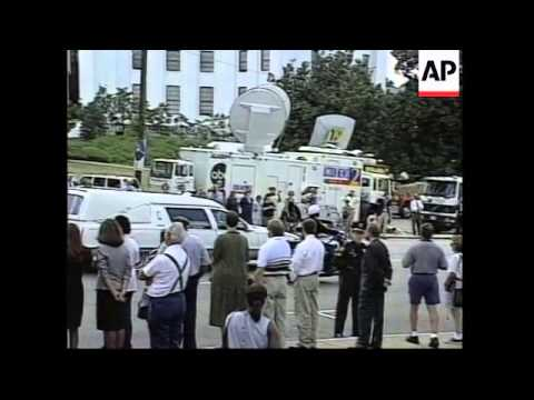USA: ALABAMA: FUNERAL OF FORMER GOVERNOR GEORGE WALLACE