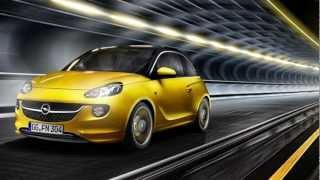 Opel Adam 2012 - cлайд с Александром Михельсоном
