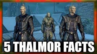 Skyrim - 5 Thalmor Facts - Elder Scrolls Lore