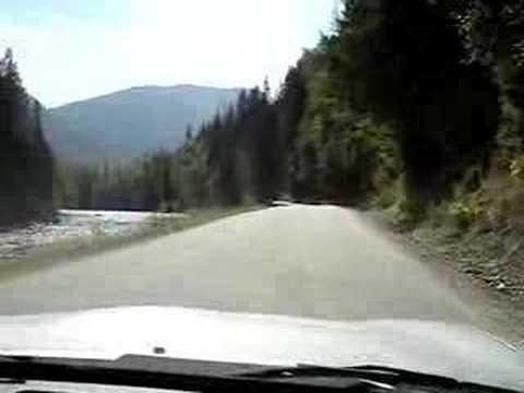 Miata trip in Winlaw BC