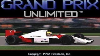Grand Prix Unlimited gameplay (PC Game, 1992)