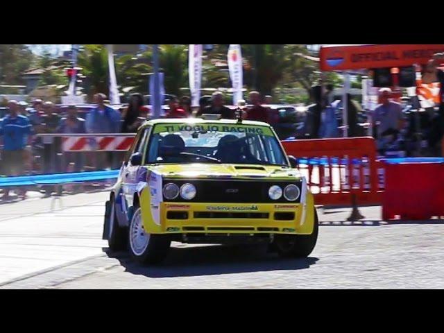 Fiat 131 Racing (Paolo Diana at IHCC) - Davide Cironi Drive Experience