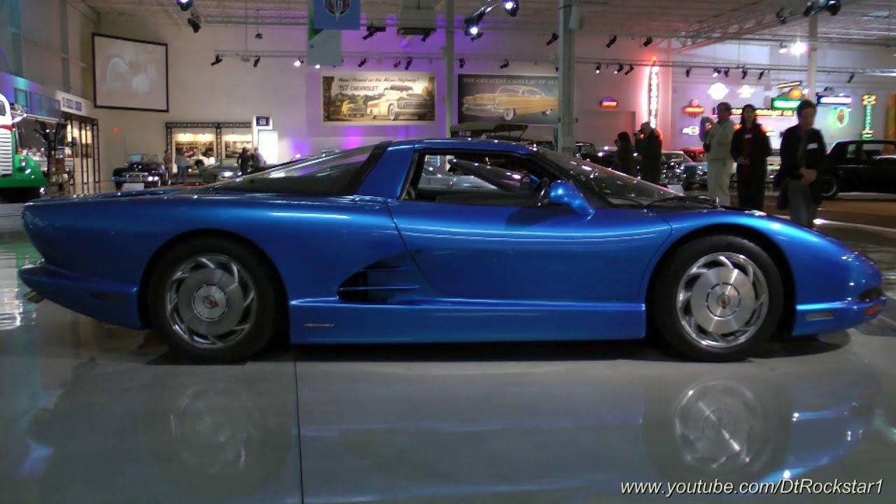 Gm Concepts 1: Corvette CERV III Concept - YouTube