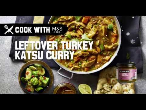 M&S   Cook with M&S... Leftover Turkey Katsu Curry