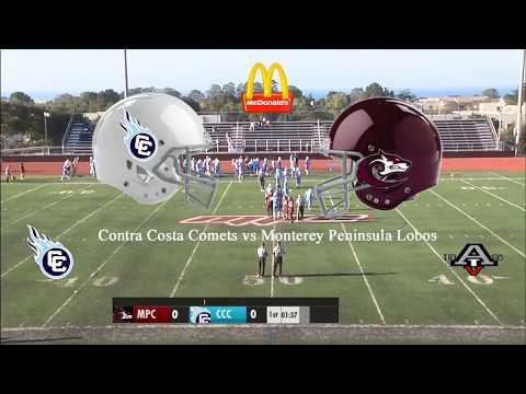 9/8/18 Contra Costa Comets vs Monterey Peninsula Lobos