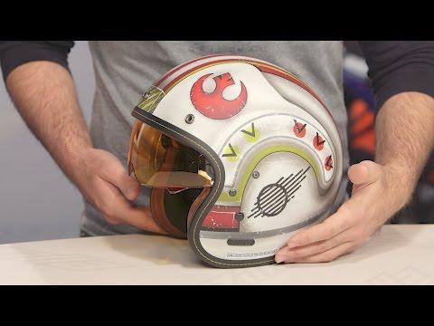 HJC IS-5 X-Wing Fighter Pilot Helmet Review at RevZilla.com