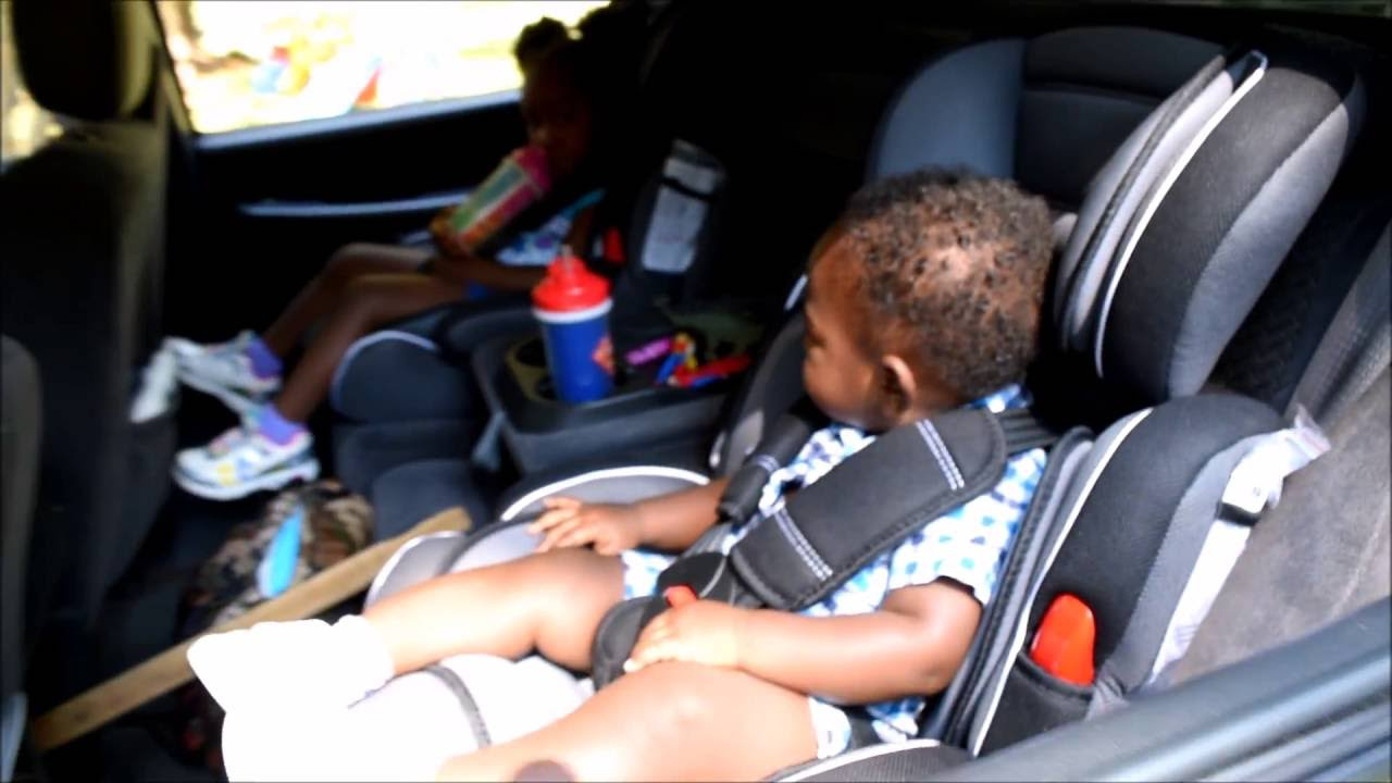 Mcc Car Seat installation and use (3 and 1 year old) - YouTube