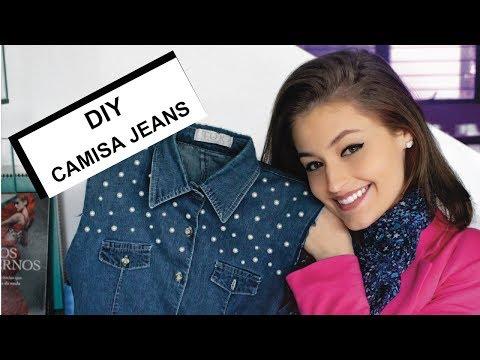 DIY da Cons | Customizando Camisa Jeans