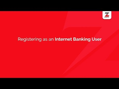 Registering on the Zenith Bank Mobile App as an Internet Banking User