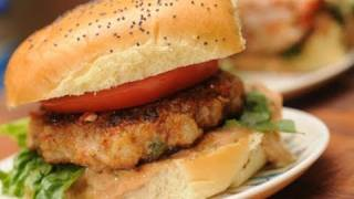 In The Kitchen With Ken - Fiery Shrimp Burger