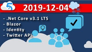 2019-12-04 (VOD) Project: Use-R-Vote - Adding Social Login to .Net Core WebApp