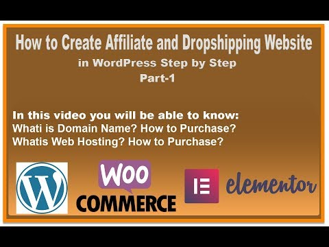 How to Create Dropshipping and Affiliate Marketing Website in WordPress Step by Step thumbnail