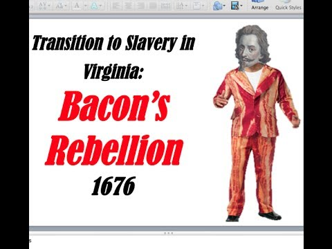 Bacon's Rebellion APUSH Review