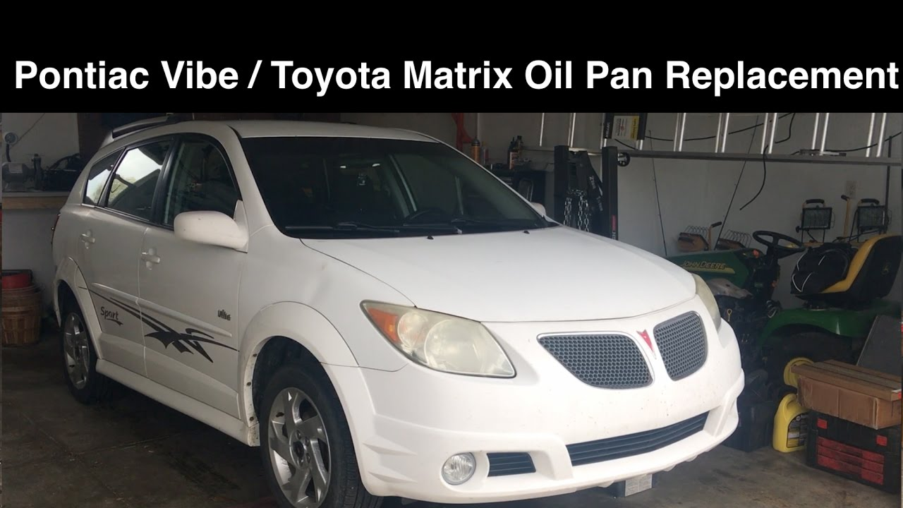 2004 toyota matrix oil type