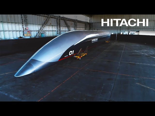 Hyperloop 'train' could fly at 1,200 kph - Hitachi