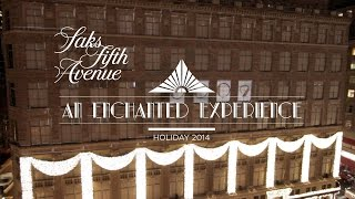 2014 Saks Fifth Avenue Holiday Light Show