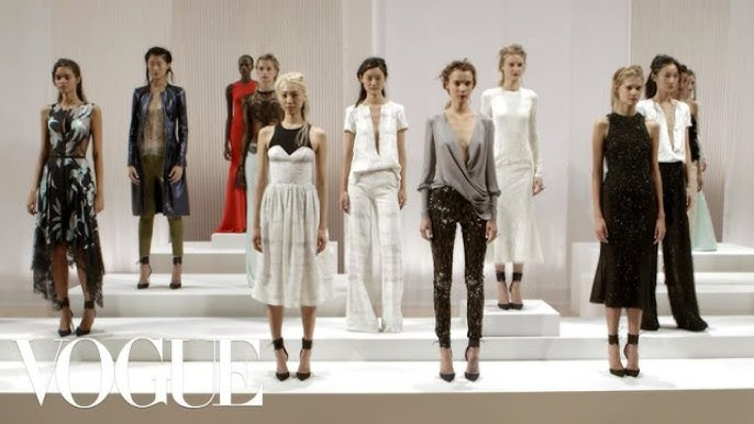 Selecting The Finalists Cfda Vogue Fashion Fund Vogue Youtube