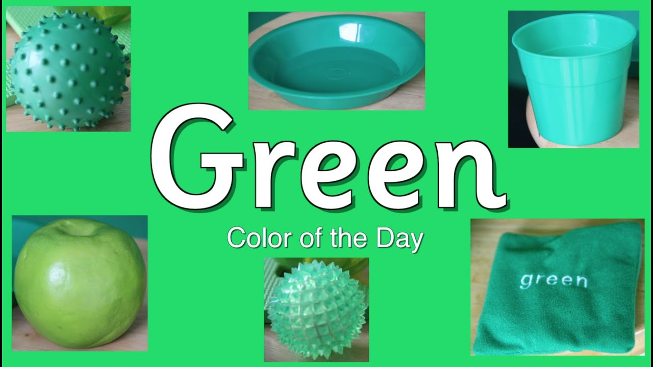 Green is the color of the Day Children\'s Song | Counting Song ...