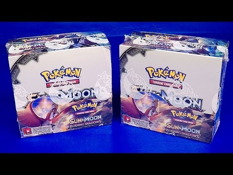 BURNING SHADOWS BOOSTER BOX SEALED POKEMON Pokémon Trading Card Game Pokémon Sealed Booster Packs