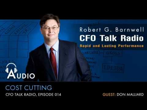 Eps. 014 CFO Talk Radio: Cost Cutting