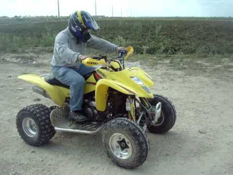 Suzuki ATV 450 - YouTube