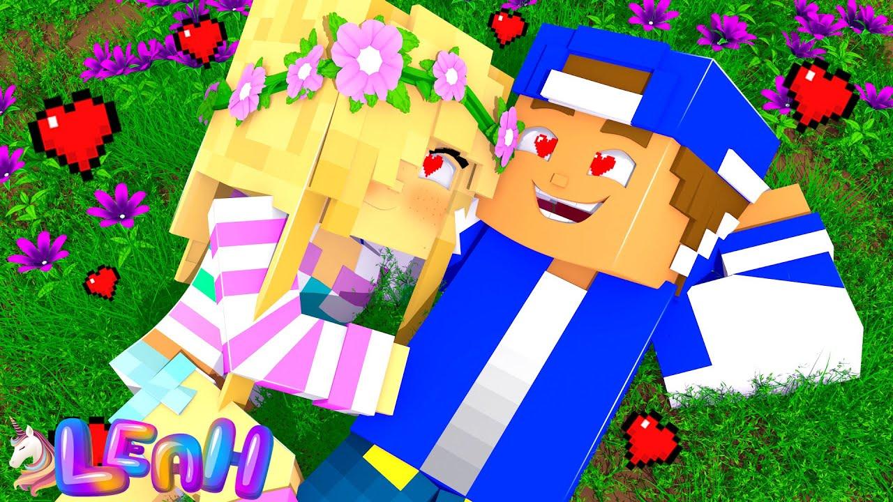 Little Leah & Little Donny - A Romantic Love Story... Minecraft Movie