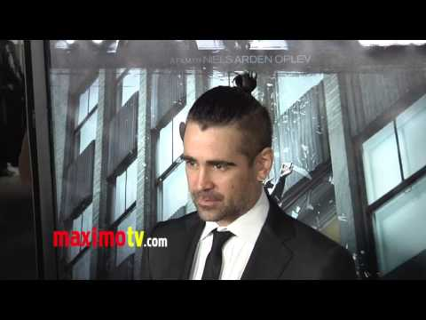 "Colin Farrell ""Dead Man Down"" Premiere Red Carpet ARRIVALS"