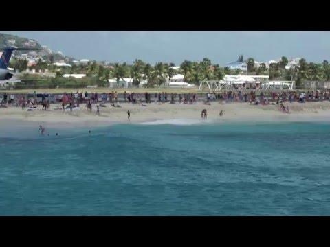 video 2 St Maarten (SXM) at Sonesta Maho & Casino resort, turbo jet sandblasting